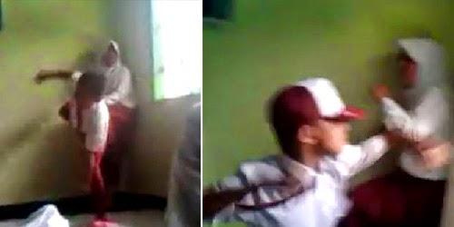 Kekerasan yang dilakukan pelajar sekolah dasar kembali terjadi