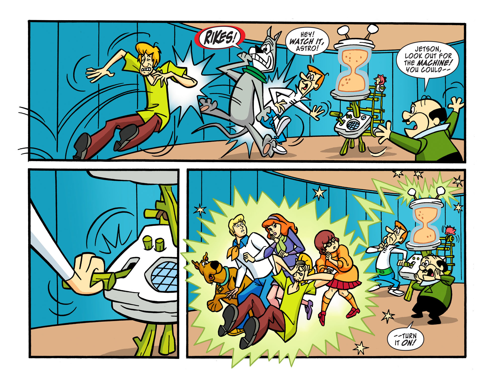 Read online Scooby-Doo! Team-Up comic -  Issue #16 - 20