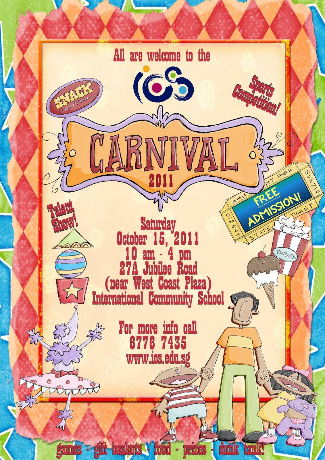 school carnival poster template images pictures becuo