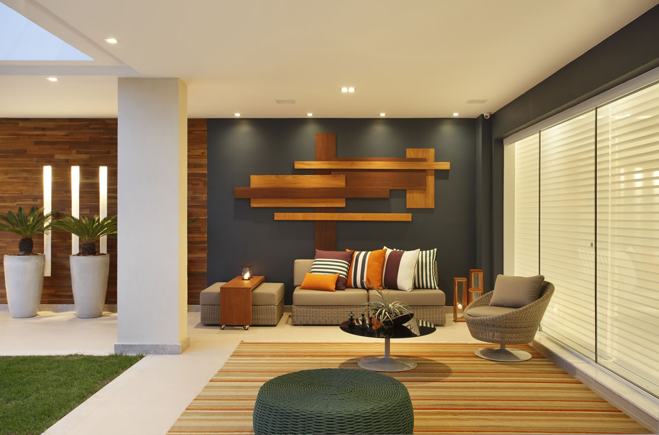 Blog salas de estar and decora o on pinterest for Casa moderna 44 belvedere