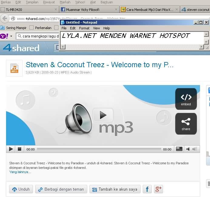 lagu dengan penyanyi steven coconut treez silahkan kamu pilih lagu ...