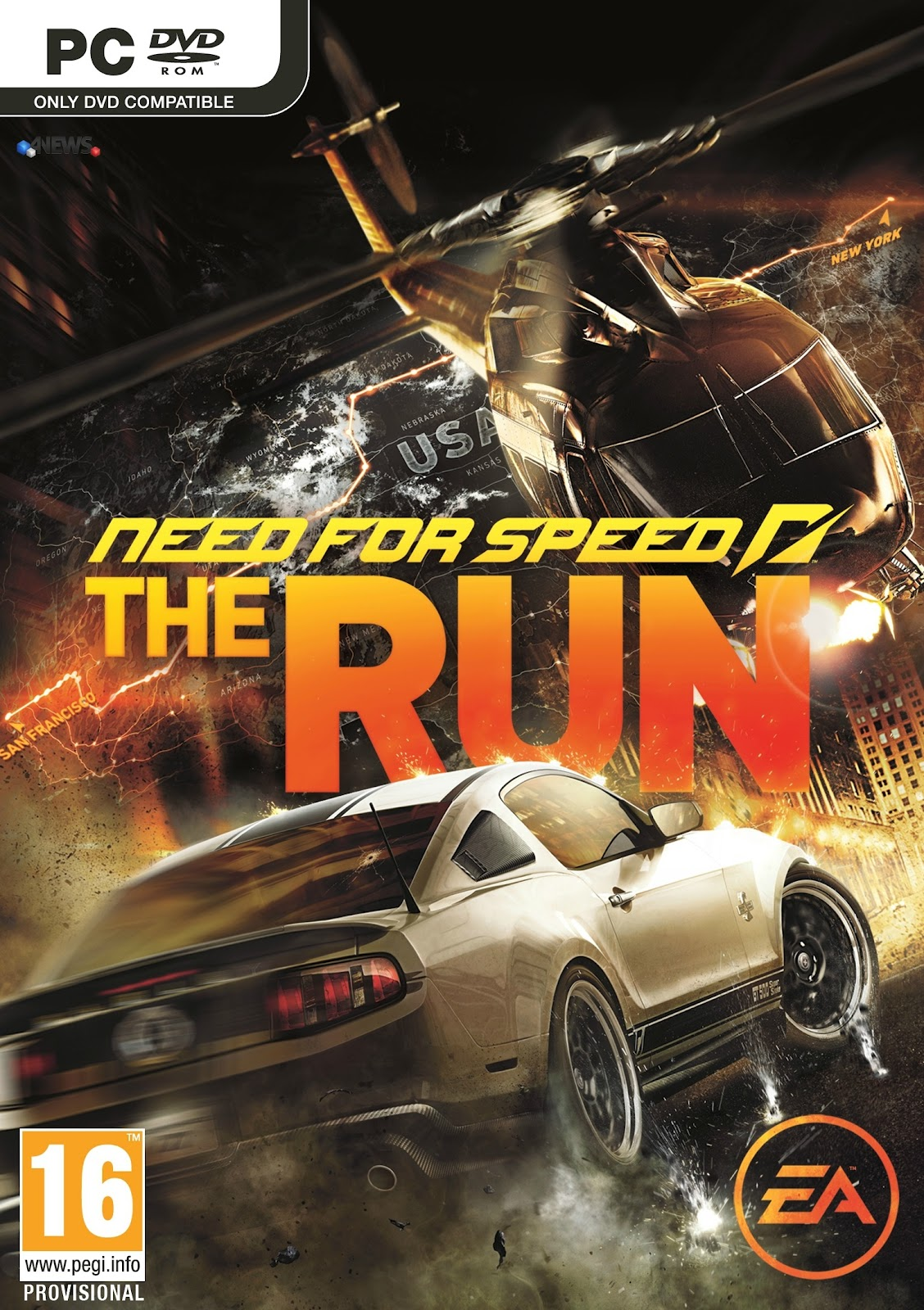 Need For Speed The Run 2012 [RELOADED] Crack Only
