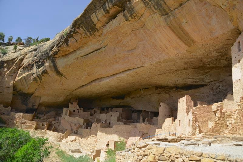 Cliff Palace - Mesa Verde - Colorado.