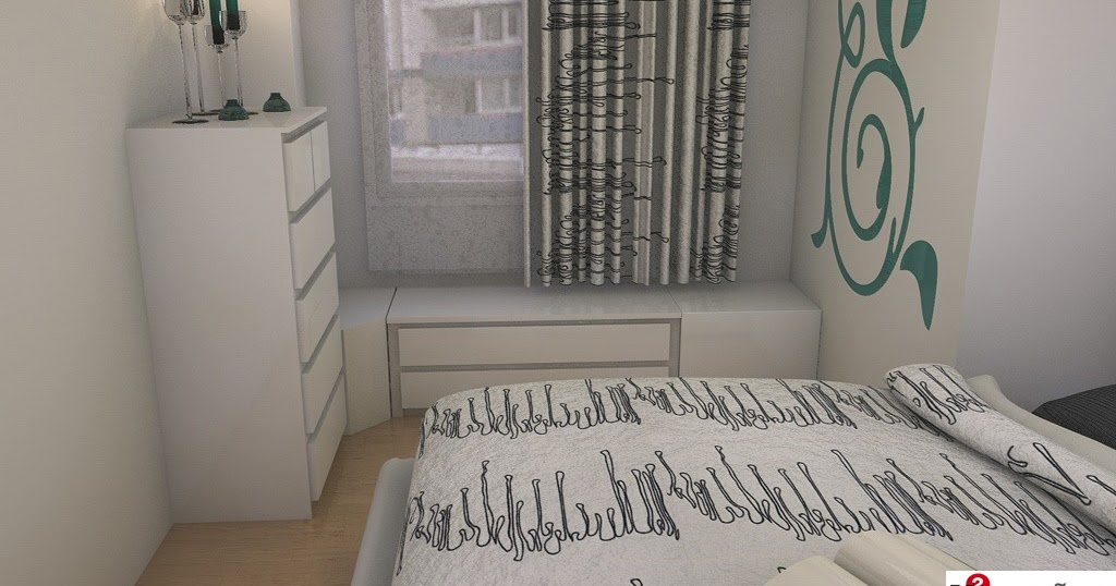 Dormitorio nordico dise o 3d hecho realidad m dise os for Wohnzimmer 4 x 8