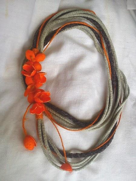 ΣΥΛΛΟΓΗ με κοσμήματα από μεταξωτά κουκούλια