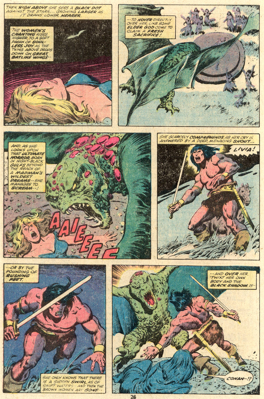 Conan the Barbarian (1970) Issue #104 #116 - English 15