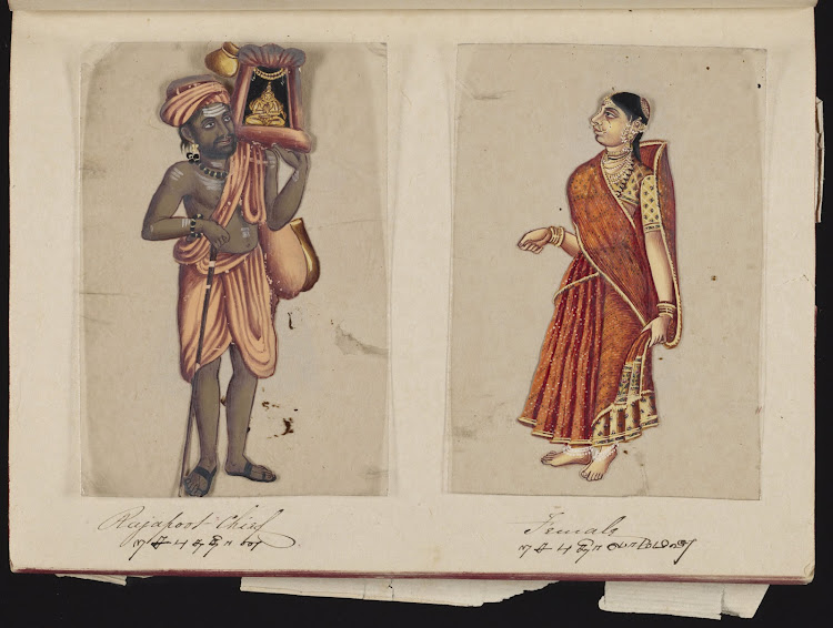 Rajpoot Chief and Female