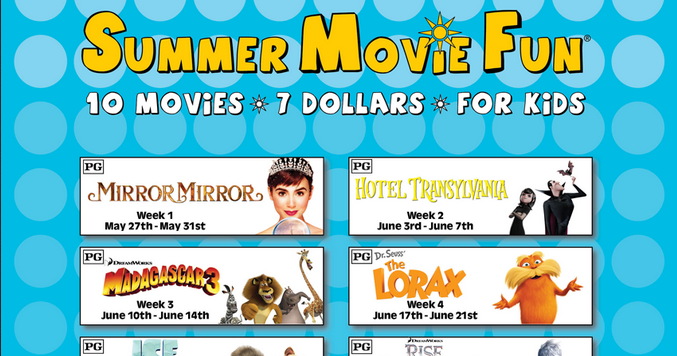 Harkins movie theaters summer movie fun