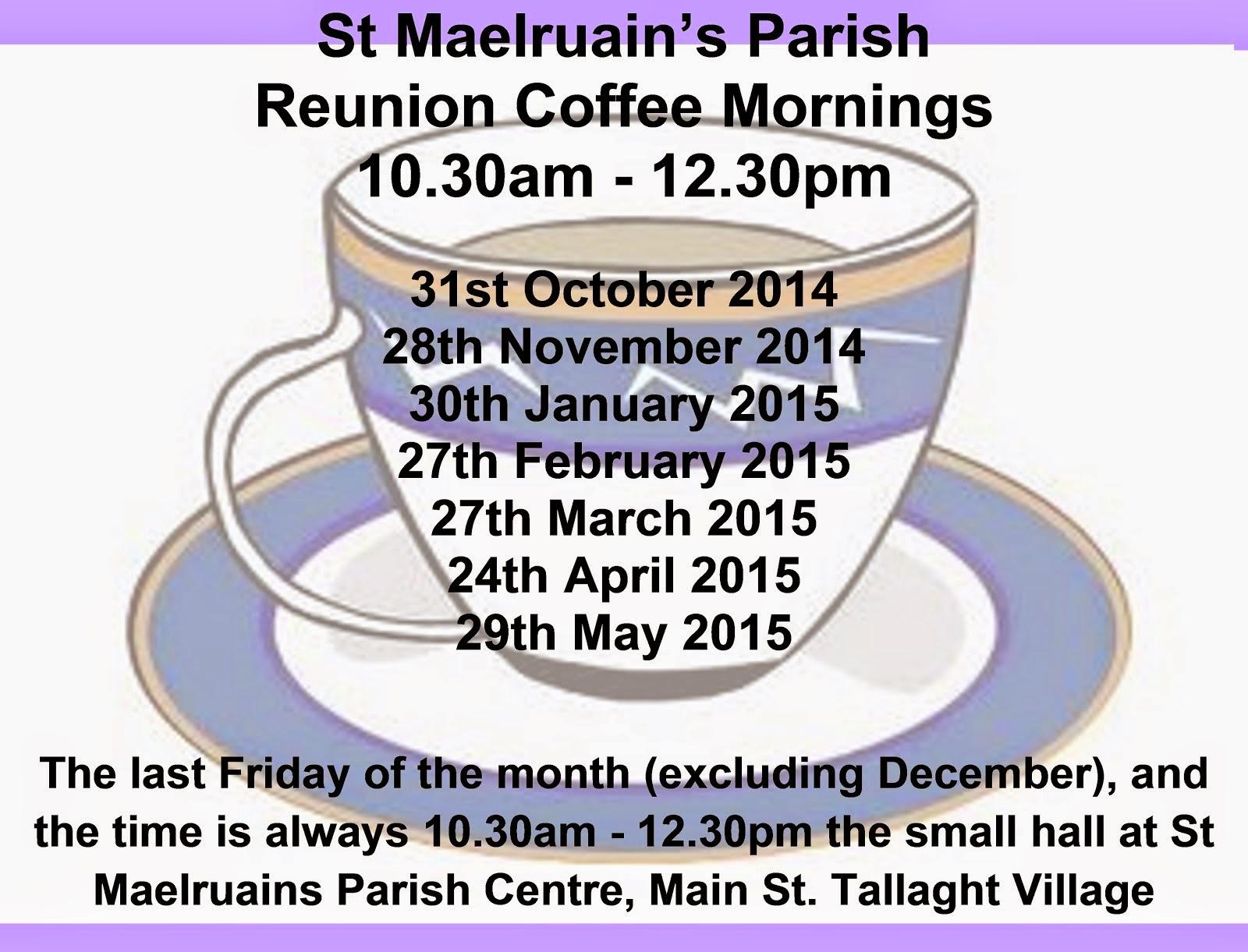 St Melruains Parish Coffee Mornings