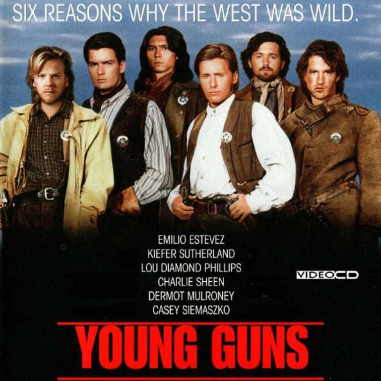 Dan's Blog: Movie Reviews: Young Guns, Young Guns II and ...