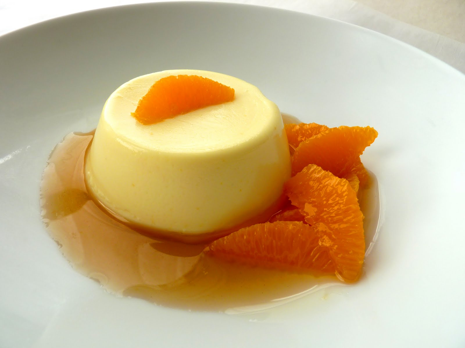Mandarin & Vanilla Bean Panna Cotta With Blood Orange Gelee Recipes ...