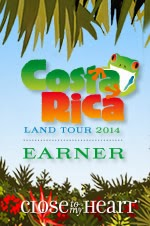 I EARNED the Costa Rica Land Tour!!