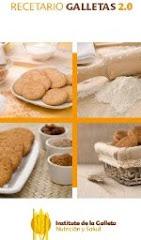 Recetario con galletas
