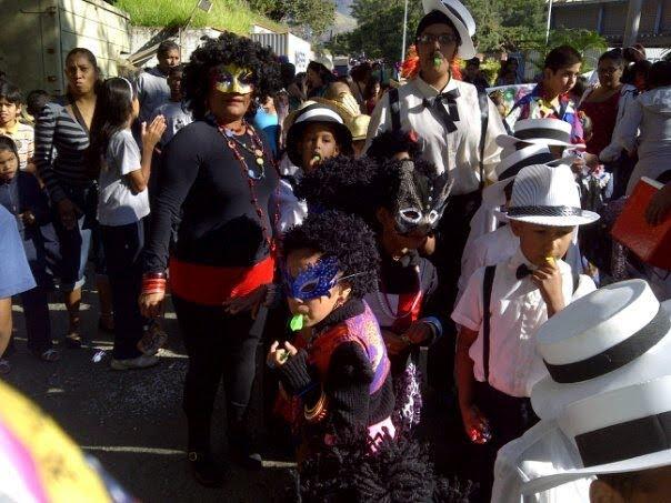 Las Negritas y Caballeros de la Caracas de los 50`s