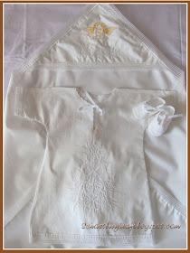 Крестильная рубашка 35