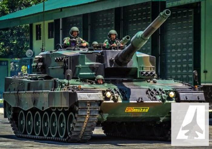 Leopard a4 TNI