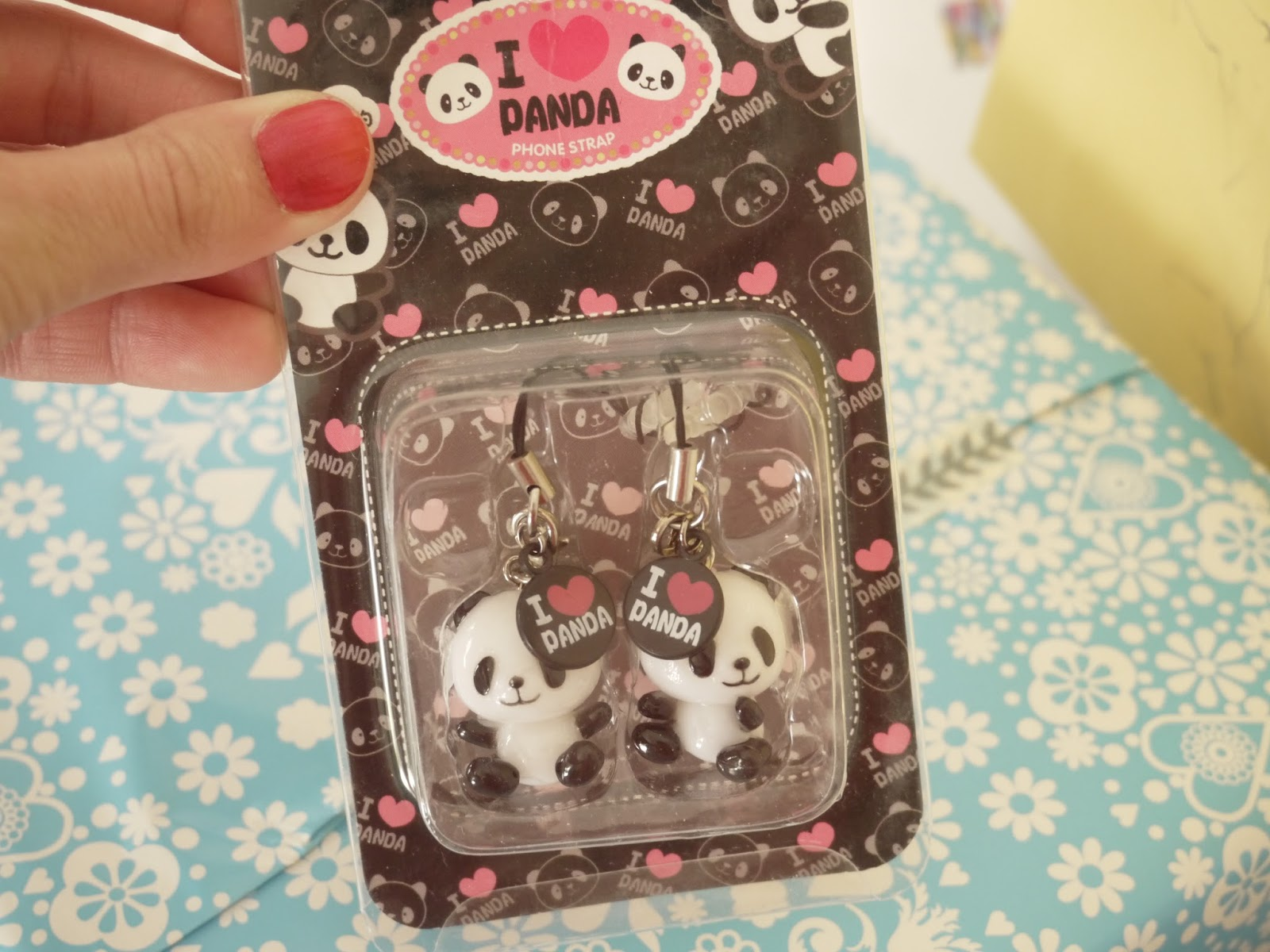 panda phone strap