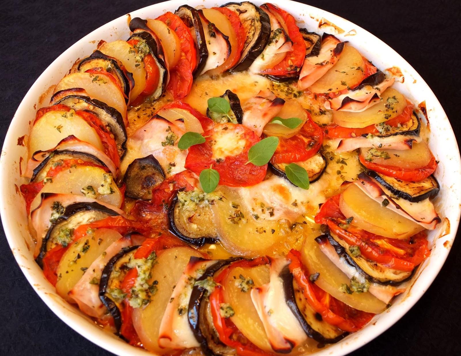 Cocinando con lola garc a berenjena con patata y mozzarella - Berenjenas con mozzarella ...