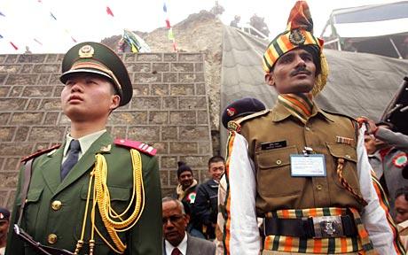 china y india