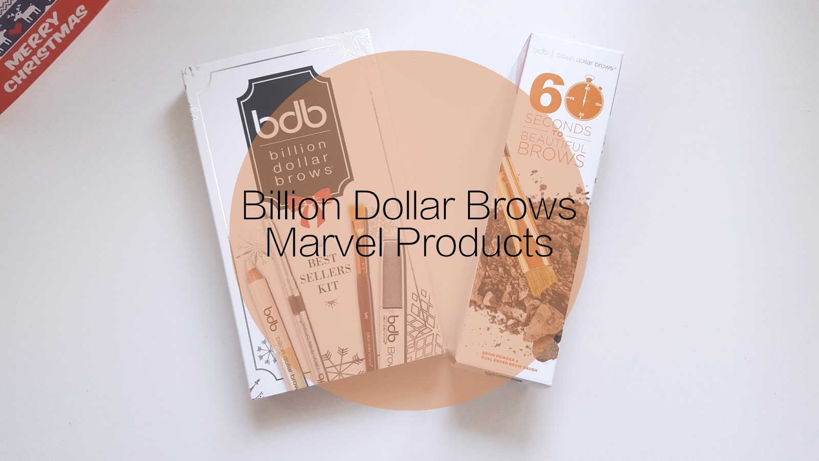 Billion Dollar Brows Marvel Products