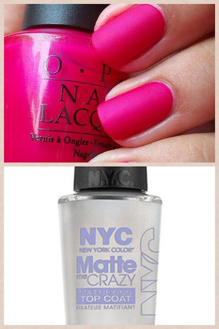 Mattify Your Nails NYC Matte Me Crazy Top Coat