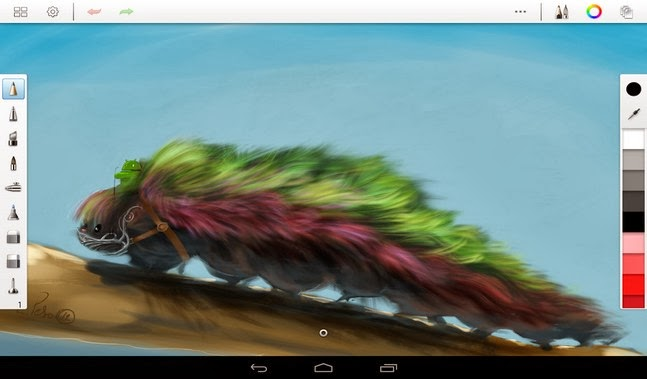 SketchBook Pro android apk - Screenshoot