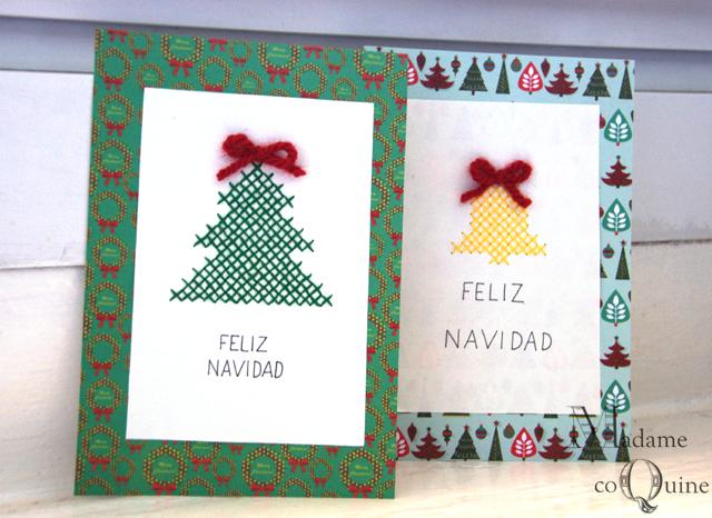 Madame coquine diy haz tus postales de navidad for Crear tarjetas de navidad