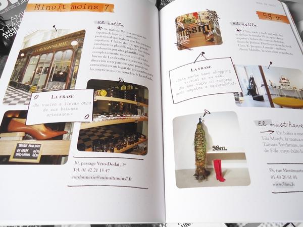 livro de moda aberto