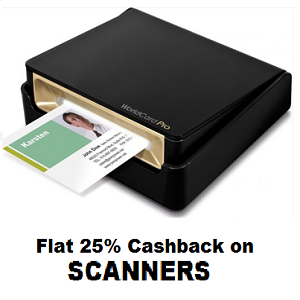 Paytm : Buy Scanners And get at Upto 24% off with Extra 25% Cashback – Buytoearn