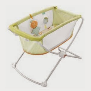 Amazon: Buy Fisher Price Rock N Play Portable Bassinet Baby Gear at Rs.4000