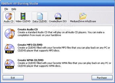 AV Burning Studio software