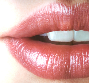 Moisturize your lips for your College Glamour Photography Session