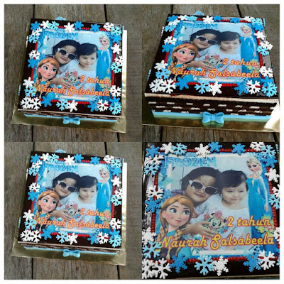 kek tempah dengan mak saudara diorang , FB : Yanies Kitchen