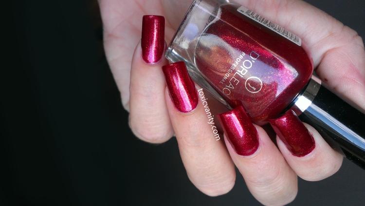 Uñas rojo rubí | D\'Orleac nº 28 | Toxic Vanity | Bloglovin\'