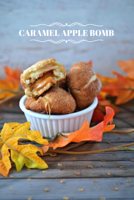 Caramel Apple Bomb recipe