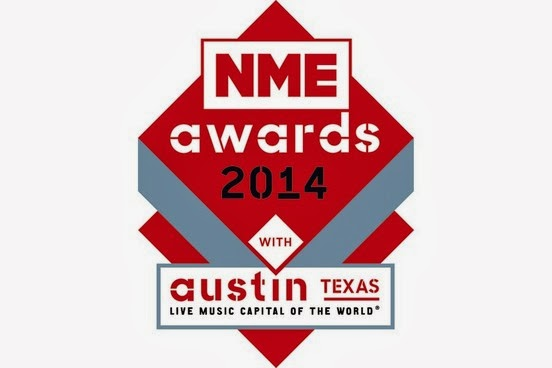NME Awards 2014 confirmed for O2 Academy Brixton - Austin, Texas to sponsor
