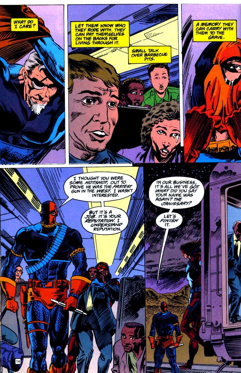 Deathstroke (1991) Issue #23 #28 - English 15