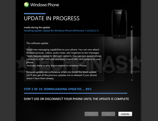 upgrade nokia lumia