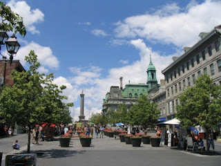 Plaza Jacques Cartier de Montreal