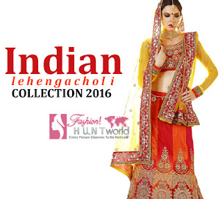 Indian Red Lehenga Choli Collection 2016 | Latest Lehenga Choli Designs For Women
