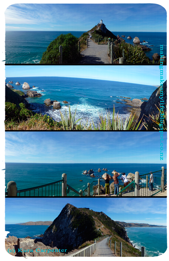 Nugget Point Lighthouse, South Island, New Zealand, 2013