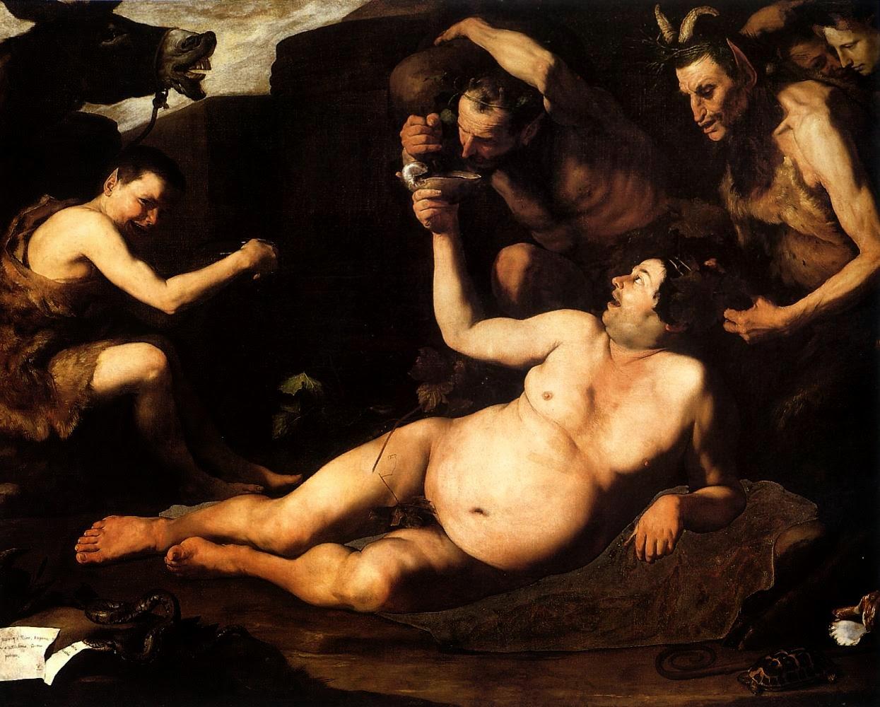 Sileno ebrio (José de Ribera, 1626)