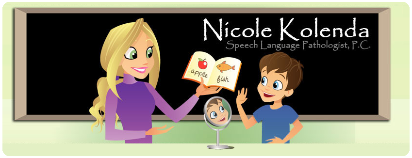 Nicole's Speech Therapy Blog