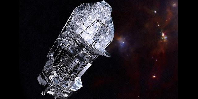 Space telescope Herschel (2009-2013) allowed fascinating insight into the birth of stars. Credit: ESA