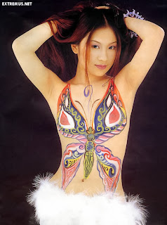 Japanese Body Painting Pictures