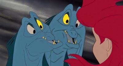 Ron Clements John Musker la sirenita eels eel anguila anguilas ariel úrsula disney