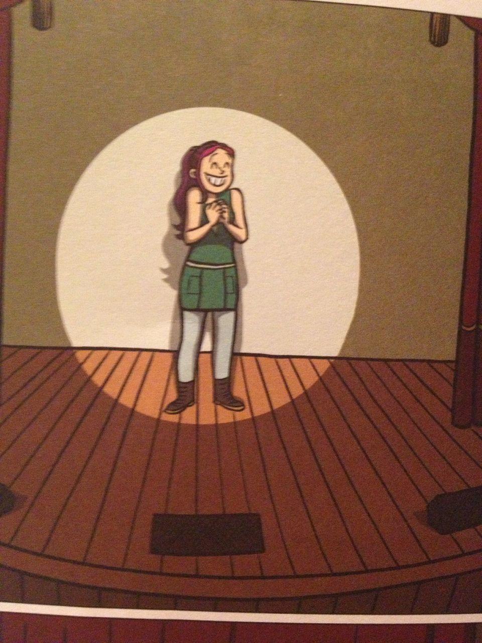 ALPHA reader: 'Drama' by Raina Telgemeier