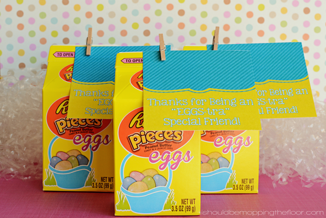 "Free Printable ""EGGS-tra"" Special Friend Tags"