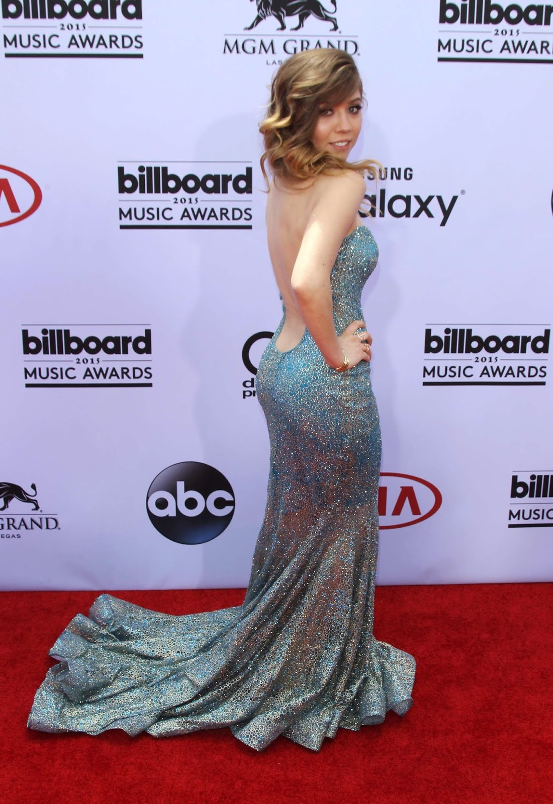 Actress, Producer, Singer @ Jennette McCurdy at 2015 Billboard Music Awards in Las Vegas