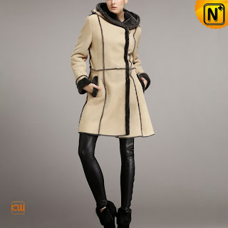 Shearling Winter Coat